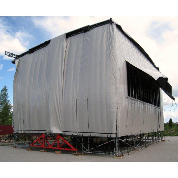 Leje af Alphastage 160m2 Mobilscene